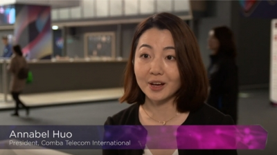 Annabel Huo, President, Comba International on MWC19 Mobile World Live